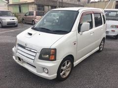 沖縄の中古車 スズキ ワゴンR 車両価格 18万円 リ済込 平成15年 10.5万K スペリアホワイト