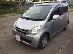 沖縄の中古車 ダイハツ ムーヴ 車両価格 25万円 リ済込 平成20年 12.5万K シルバー
