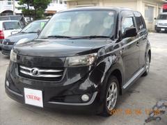 沖縄の中古車 トヨタ bB 車両価格 38万円 リ済込 平成18年 9.5万K ブラックM