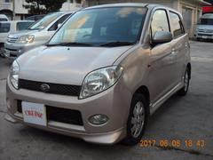 沖縄の中古車 ダイハツ MAX 車両価格 9万円 リ済込 平成15年 15.6万K ピンクM