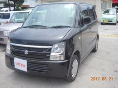 沖縄の中古車 スズキ ワゴンR 車両価格 19万円 リ済込 平成20年 12.7万K ブラック