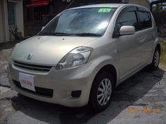 沖縄の中古車 トヨタ パッソ 車両価格 25万円 リ済込 平成20年 6.4万K ライトゴールドM