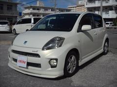 沖縄の中古車 トヨタ パッソ 車両価格 25万円 リ済込 平成17年 8.9万K パールホワイト
