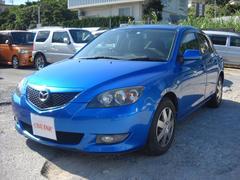 沖縄の中古車 マツダ アクセラスポーツ 車両価格 28万円 リ済込 平成16年 1.0万K ブルーM