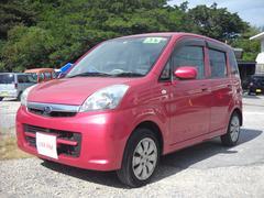 沖縄の中古車 スバル ステラ 車両価格 19万円 リ済込 平成20年 11.3万K ピンク