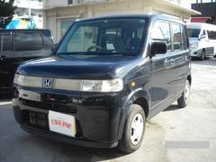 沖縄の中古車 ホンダ ザッツ 車両価格 24万円 リ済別 平成19年 11.0万K ブラックM