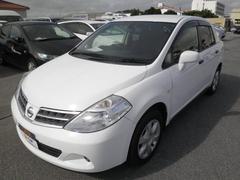 沖縄の中古車 日産 ティーダラティオ 車両価格 63.8万円 リ済別 平成24年 8.6万K ホワイト