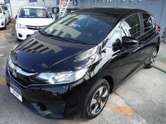 沖縄の中古車 ホンダ フィットハイブリッド 車両価格 129.6万円 リ済別 平成28年 4.6万K ブラック