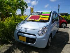 沖縄の中古車 スズキ アルトエコ 車両価格 49万円 リ済別 平成24年 6.1万K ライトブルー