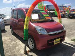 沖縄の中古車 スバル ステラ 車両価格 45万円 リ済別 平成20年 4.8万K ピンク