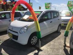 沖縄の中古車 スズキ アルト 車両価格 35万円 リ済別 平成22年 7.1万K ホワイト