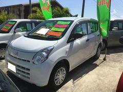 沖縄の中古車 スズキ アルト 車両価格 33万円 リ済別 平成24年 7.3万K ホワイト