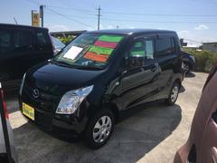 沖縄の中古車 マツダ AZワゴン 車両価格 59万円 リ済別 平成22年 6.8万K ブラック