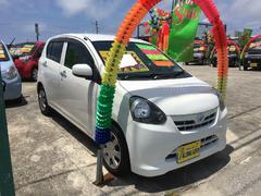 沖縄の中古車 ダイハツ ミライース 車両価格 49万円 リ済別 平成24年 7.3万K ホワイト