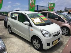 沖縄の中古車 ダイハツ ミラ 車両価格 47万円 リ済別 平成24年 7.1万K ホワイト