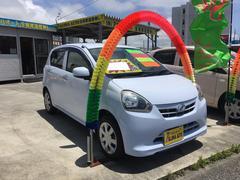 沖縄の中古車 ダイハツ ミライース 車両価格 57万円 リ済別 平成24年 7.1万K ライトブルー
