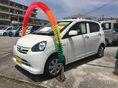 沖縄の中古車 ダイハツ ミライース 車両価格 53万円 リ済別 平成24年 6.0万K ホワイト