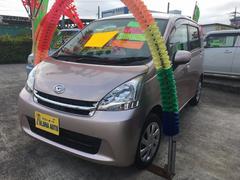 沖縄の中古車 ダイハツ ムーヴ 車両価格 55万円 リ済別 平成23年 7.3万K ピンク