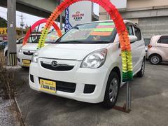 沖縄の中古車 ダイハツ ミラ 車両価格 45万円 リ済別 平成24年 7.1万K ホワイト