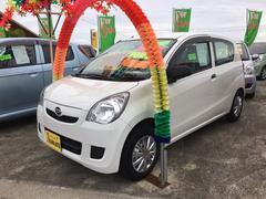 沖縄の中古車 ダイハツ ミラ 車両価格 38万円 リ済別 平成25年 6.3万K ホワイト
