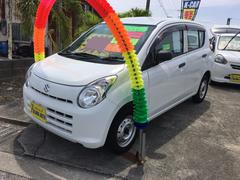 沖縄の中古車 スズキ アルト 車両価格 35万円 リ済別 平成25年 7.1万K ホワイト