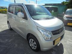 沖縄の中古車 マツダ AZワゴン 車両価格 49万円 リ済別 平成21年 7.4万K シルバー
