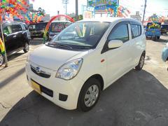 沖縄の中古車 ダイハツ ミラ 車両価格 45万円 リ済別 平成24年 6.0万K ホワイト