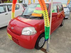 沖縄の中古車 ダイハツ エッセ 車両価格 37万円 リ済別 平成21年 6.9万K レッド