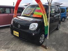 沖縄の中古車 日産 モコ 車両価格 65万円 リ済込 平成24年 6.9万K ブラックM