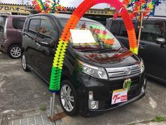 沖縄の中古車 ダイハツ ムーヴ 車両価格 88万円 リ済込 平成25年 6.4万K ブラックマイカメタリック