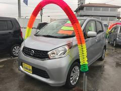 沖縄の中古車 日産 デイズ 車両価格 79万円 リ済込 平成27年 4.0万K シルバー
