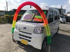 沖縄の中古車 スバル サンバーバン 車両価格 75万円 リ済別 平成29年 4.7万K ホワイト
