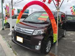 沖縄の中古車 ダイハツ ムーヴ 車両価格 92万円 リ済込 平成26年 6.2万K ブラウン
