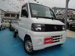 沖縄の中古車 日産 NT100クリッパートラック 車両価格 39万円 リ済別 平成16年 14.6万K ホワイト
