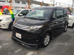 沖縄の中古車 トヨタ スペイド 車両価格 138万円 リ済込 平成25年 2.5万K ブラック