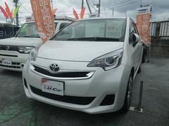 沖縄の中古車 トヨタ ラクティス 車両価格 136万円 リ済別 平成26年 3.3万K ホワイト