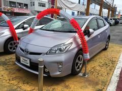 沖縄の中古車 トヨタ プリウス 車両価格 114万円 リ済別 平成24年 7.1万K ライトパープル