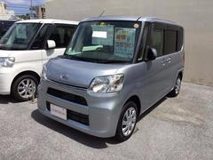 沖縄の中古車 ダイハツ タント 車両価格 109万円 リ済別 平成25年 2.1万K シルバー