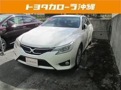 沖縄の中古車 トヨタ マークX 車両価格 162万円 リ済別 平成25年 1.9万K パールホワイト