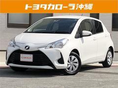 沖縄の中古車 トヨタ ヴィッツ 車両価格 125万円 リ済別 平成29年 1.0万K パール