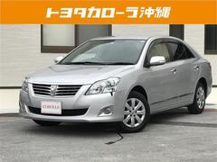沖縄の中古車 トヨタ プレミオ 車両価格 122万円 リ済別 平成24年 4.1万K シルバー