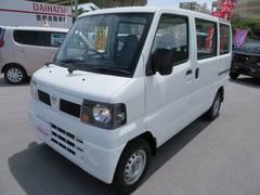 沖縄の中古車 日産 クリッパーバン 車両価格 49万円 リ済込 平成21年 5.8万K ホワイト