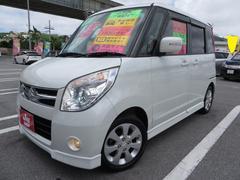 沖縄の中古車 スズキ パレット 車両価格 63万円 リ済込 平成20年 9.5万K パールホワイト