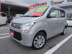 沖縄の中古車 スズキ ワゴンR 車両価格 59万円 リ済込 平成25年 9.0万K シルキーシルバーメタリック
