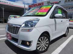 沖縄の中古車 スバル ステラ 車両価格 59万円 リ済込 平成22年 8.7万K シルキーホワイトパール