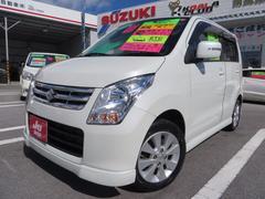 沖縄の中古車 スズキ ワゴンR 車両価格 59万円 リ済込 平成22年 6.9万K パールホワイト