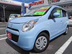 沖縄の中古車 スズキ アルトエコ 車両価格 62万円 リ済込 平成24年 2.4万K エアブルーメタリック