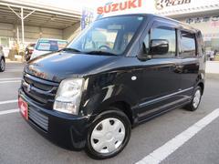 沖縄の中古車 スズキ ワゴンR 車両価格 31万円 リ済込 平成19年 8.2万K ブルーイッシュブラックパール3