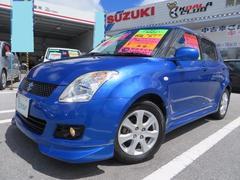 沖縄の中古車 スズキ スイフト 車両価格 58万円 リ済込 平成21年 7.0万K パールメタリックカシミールブルー
