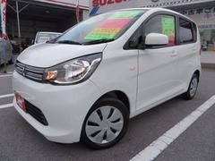 沖縄の中古車 三菱 eKワゴン 車両価格 62万円 リ済込 平成25年 4.6万K ホワイト